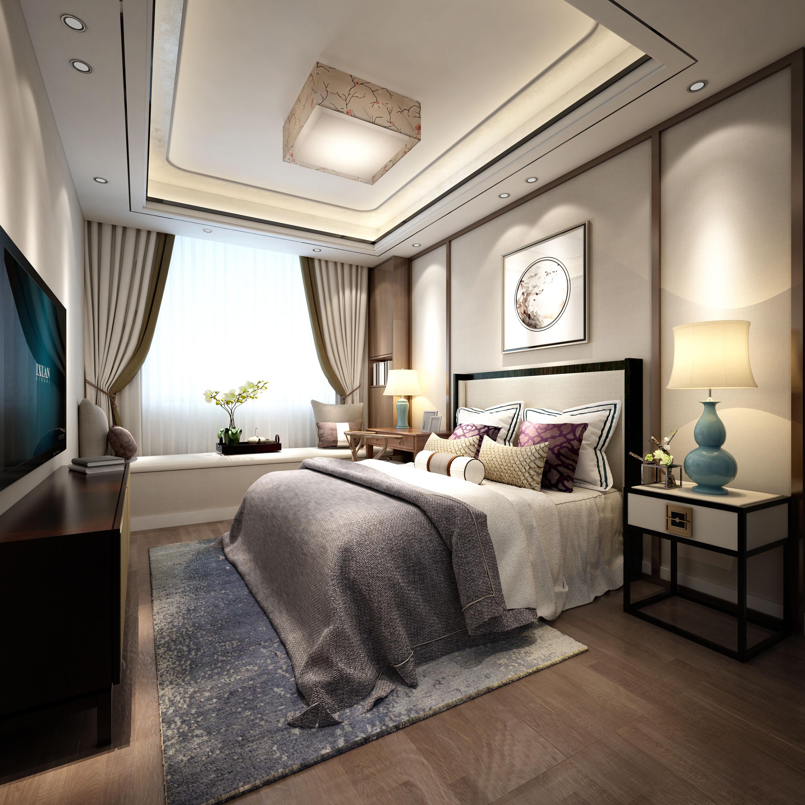 本家设计老人房卧室装修设计图片