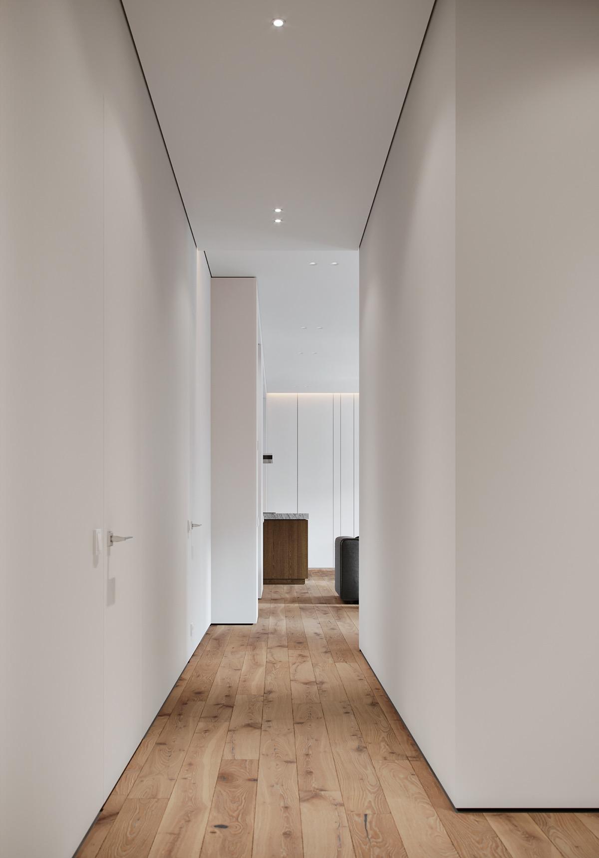现代简约走廊装修