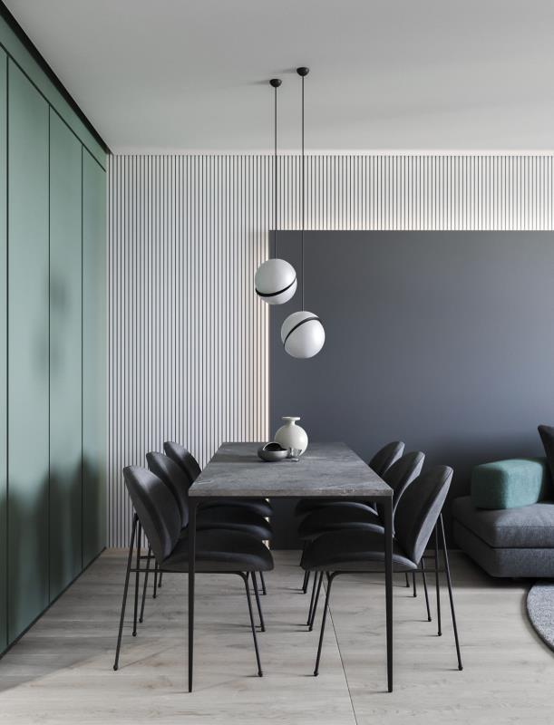 现代风 餐厅 本家设计