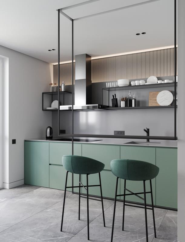 现代风 厨房 本家设计
