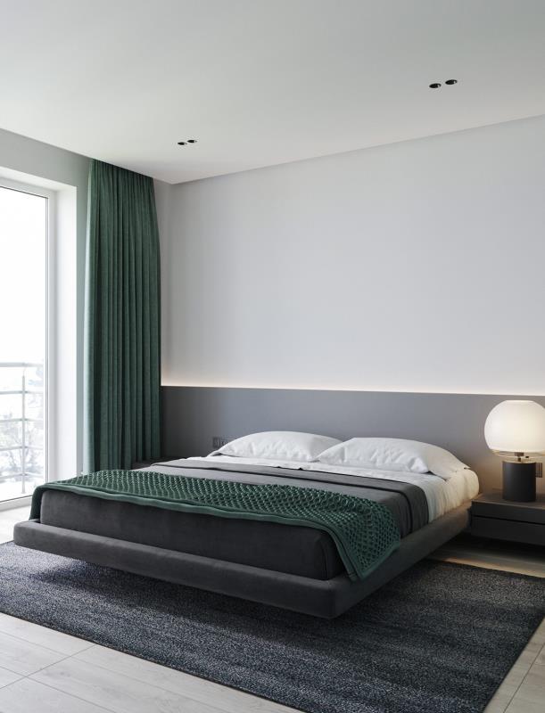 现代风 卧室  本家设计